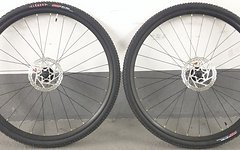 Cyclocross Laufradsatz Alex ATD470 Tubeless + Formula Naben inkl. Bremsscheiben