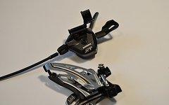 Shimano FD-M8020-E 2x11fach Umwerfer inkl. Shimano XT  SL-M8000 2-fach Schalthebel