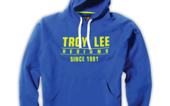 Troy Lee Designs Gr.L STANDARD FLEECE PULLOVER ROYAL