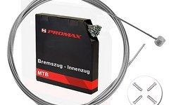 Promax 2x Bremszug Bowdenzug Bremsseil 1,5mm 2m mit Endhülsen MTB BMX Trekking