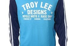 Troy Lee Designs Super Retro Jersey Cyan S, M, XL