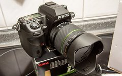 Pentax DSLR Pentax K-5 Kit, Wetterfest!