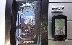 Garmin Oregon 650 T, incl. diverse Topo Karten, Kamera und 8gb sd