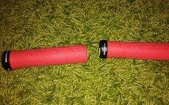 Ergon GA 2 Ergon Griffe MTB AM DH FR Allround Griffe in Rot  ERGON GA2