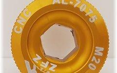 "Aluminium Kurbelschraube M20 ""gold"""