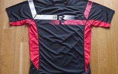 Race Face Jersey schwarz/rot Größe M