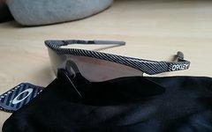 Oakley M Frame Mumbo with Hammers Black Iridium SWEEP und Persimmon