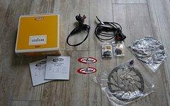 Avid Code R Scheibenbremse Set 203mm VR 180mm HR + neue Beläge