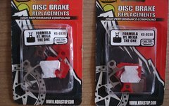 Kool Stop Disc Bremsbeläge für Formula RX / R1R / R1 / T1 / RO / C1 / The One / Mega - KS-D330