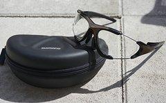 Shimano Bikebrille mit Wechselgläser