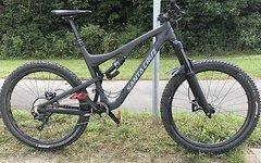 Santa Cruz Bronson C XL komplett Carbon