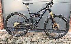 Specialized Muss weg: Enduro Sworks rahmen mit Bike Yoke / Optional Fox