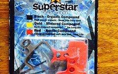 Superstar Components Kevlar Compound Bremsbeläge Formula R1 RX ONE MEGA NEU OVP