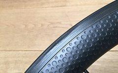 Carbonbikekits 45 mm Carbonlaufräder, dimpled, VR defekt
