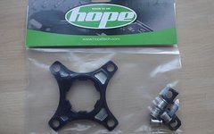 Hope Single Ring Spider 1-fach, schwarz
