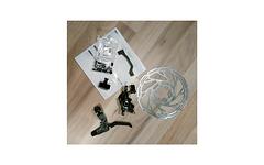 Rever mtn1 160mm mech. Vorderbremse inkl. Bremshebel