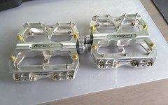 Reverse Components ReverseEscape Plattform Pedale Silber / Gold