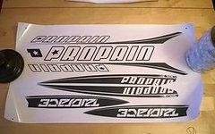 Propain Decal / Sticker / Stickerkit / Aufkleber * Propain* Modell Twoface 2014 / 2015 * Farbe; schwarz * NEU
