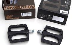 Sixpack VEGAS Pedal black Flatpedal schwarz NR444