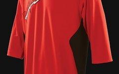 Royal Racing Jersey FADE 3/4 Ärmel Rot-Schwarz, Größe XL