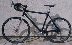 Alu-Rennrad/-Cyclocrosser 56er Rahmen