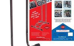 """Willworx Ausstellungsständer Fahrrad Ständer Fat Bike Fat Rack einstellbar 3-5"""""""