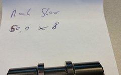 Rock Shox Einbaubuchsen für Federbeine 8 mm für Monarch/Kage/Vivid/Ario ab 2010