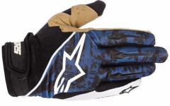 Alpinestars Gravity Gloves Blue White XS