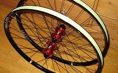 """WTB Enduro/All Mountain Laufradsatz 26"""" / Aivee MT5 / WTB Kom i25 / tubeless ready / XD oder klassischer Freilauf/Top!"""