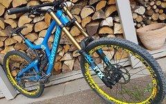 Santa Cruz V10 CC 10.6 XL 2018 Downhillbike FOX40-DHX2-DMAX Ultimate