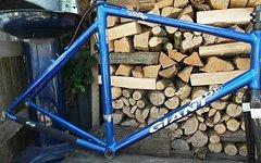 Giant Cyclo-cross Rahmen mit vollcarbon Kinesis PureCX Gabel