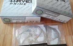 Hayes Prime Comp Scheibenbremsen Komplettset VR + HR + Lightweight Scheiben 180 mm