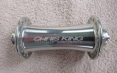 Chris King Classic Rare, silberfarbene Front-Nabe für Felgenbremse und 32 Speichen