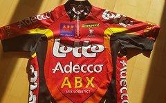 Nalini Lotto Bike Trikot Shirt MTB Rennrad Kurzarm GR 5 M
