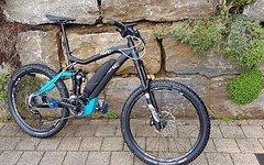 Haibike Sduro Nduro RX 27,5 Zoll Anthrazit/Blau Matt (2016) Rh 48cm