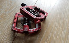Crankbrothers Mallet DH Race Pedale Rot