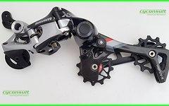 Cyconsult® XX1 Schaltwerkröllchen Set - 12z / 12T Resine-SRAM Jockey Wheels