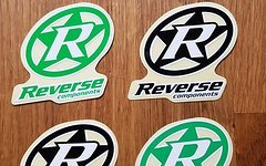 Reverse Components 4 Sticker Logo