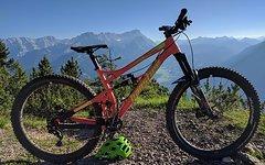 Banshee Prime 29 2017 Zoll Enduro, Killer Bike, large, orange