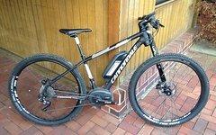 Cannondale Tramount 1 MTB E-Bike Medium Black/Gray Bosch Performance Cruise 250 Watt ca. 300 KM