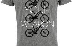 """Brothersindirt T-Shirt """"Choose Your Weapon"""" grey XL *NEU*"""