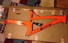 Orange Five Rahmen L neu fizzy orange