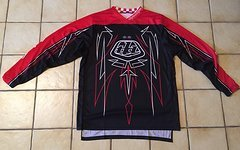 Troy Lee Designs MX Trikot GP Pinstripe Schwarz