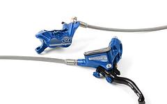 Hope Tech3 V4 Downhill/Enduro Bremsen Komplettset mit Stahlflexleitungen