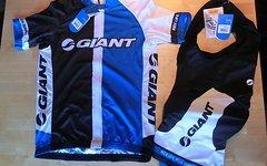 Giant RaceDay Kurzarmtrikot und Trägerhose NEU S