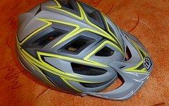Troy Lee Designs A1 Helm grau gelb