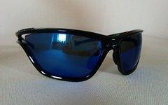 Alpina Sonnenbrille Eye-5 CM+ schwarz Glas blau versp.fogstop.