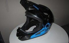 Uvex HLMT 9 Bike Fullface DH-Helm