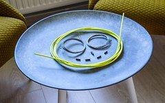 Schaltzug -Set / Neon-Gelb