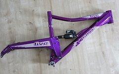 "Orange Bikes Uk Five 650B 27,5"" Rahmen Deep Purple Größe L"